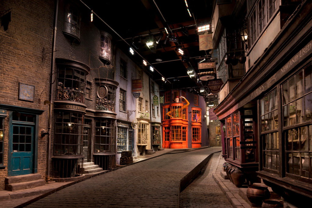 Visit Diagon Alley during your Harry Potter Warner Brothers studio tour