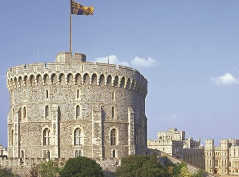Windsor Castle and Cream Tea