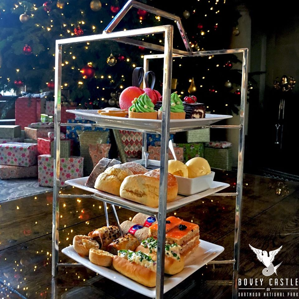 Bovey Castle Christmas afternoon tea 219, gift voucher.