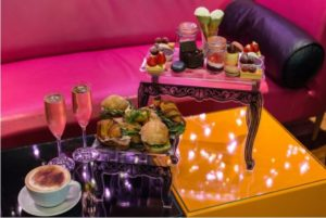Champagne Afternoon Tea for Two at Cake Boy
