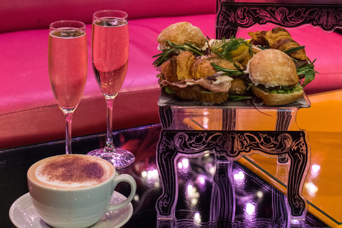 Champagne Afternoon Tea Cake Boy London Special Offer