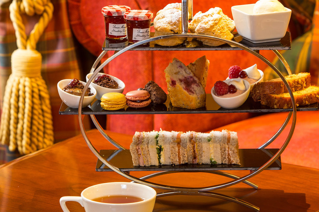 Afternoon Tea for Two at Dalmahoy, near Edinburgh.