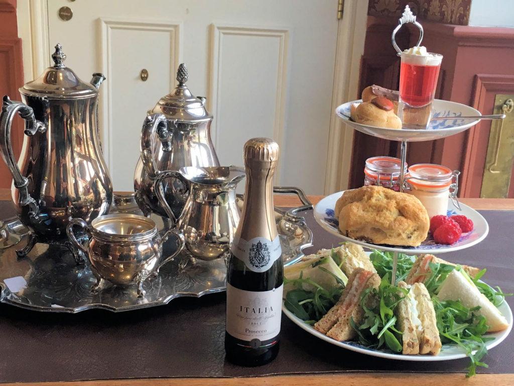 Champagne Afternoon Tea Birmingham at the Aston Tavern
