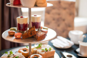 Afternoon Tea at Ackergill Tower, Wick, North East Scotland