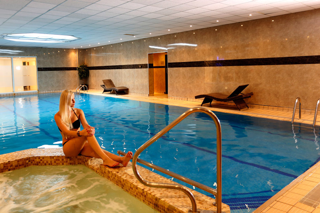 The swimming pool at the Best Western Plus Connaught Hotel, Bournemouth