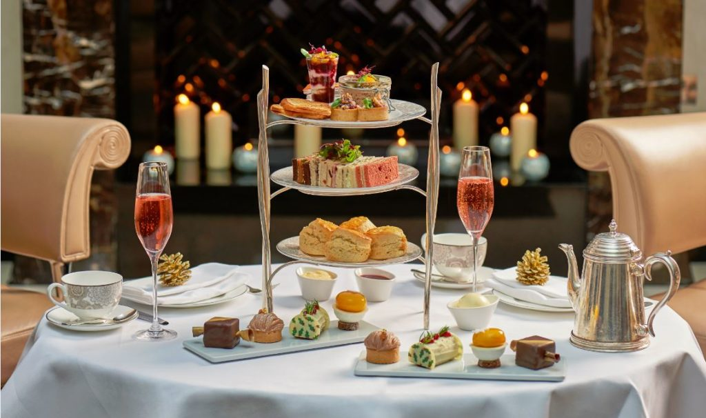 Christmas Afternoon Tea London 2017 at the Conrad London St James