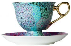 Moroccan cup and saucer set from John Lewis