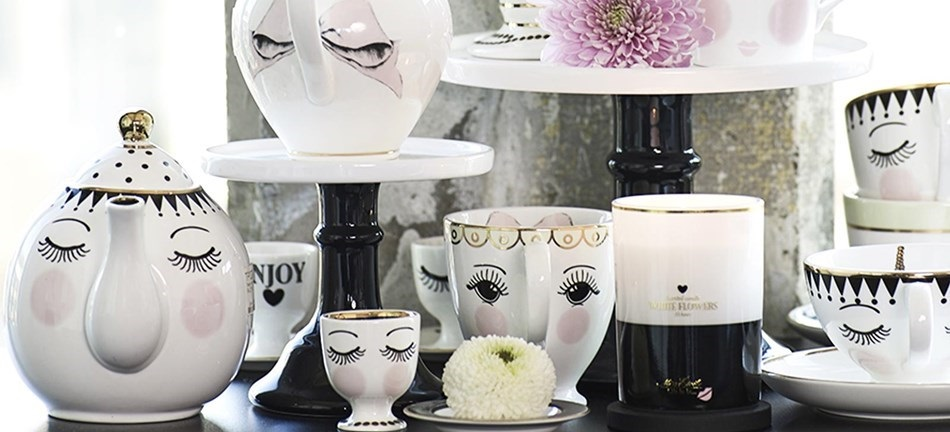 Miss Etoile Tea Set Collection inspired by Beauty and the Beast