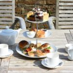 Enjoy an alfresco afternoon tea at Pentillie Castle, Cornwall