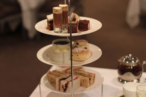Afternoon Tea at Priesthouse by the River, Castle Donington, Derbyshire
