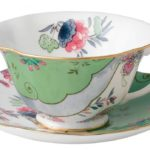 Butterfly Bloom Teacup and Saucer from Wedgwood