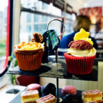 The mouthwatering cakes for afternoon tea in Edinburgh with Red Bus bistro