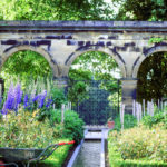 The stunning gardens at The Alnwick Garden, Northumberland