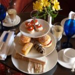 Afternoon tea at the Beechwood Hotel, Norfolk