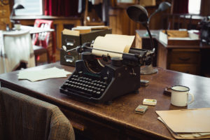 World War Two Typewriter which you will see during your visit to Bletchley Park