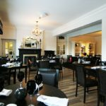 The bar at Craiglands Hotel, the venue for afternoon tea is a beautiful part of West Yorkshire.