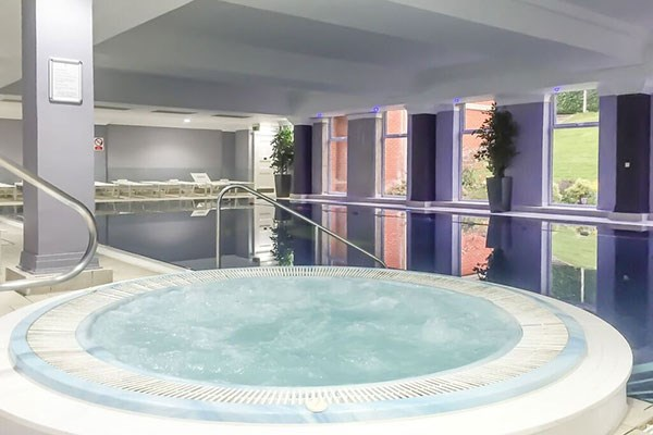 Enjoy an afternoon tea and spa day at Greenwoods Hotel, Essex. This is the beautiful spa at Greenwoods Hotel.