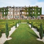 The stunning Nidd Hall Hotel and surrounding gardens.