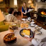 Enjoy a delicious afternoon tea at the Talbot Hotel, North Yorkshire in front of warming log fires - a beautiful afternoon tea in North East England.