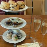 Sparkling afternoon tea at the Yarrow Hotel, Kent