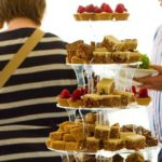 Enjoy an afternoon tea at the Yorkshire Heart Vineyard and Brewery in North Yorkshire
