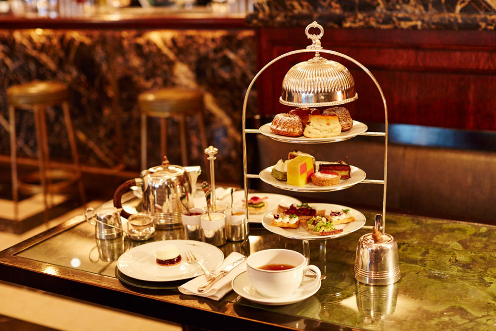Afternoon tea London. A viennese inspired afternoon tea from the Delaunay, Aldwych, London.
