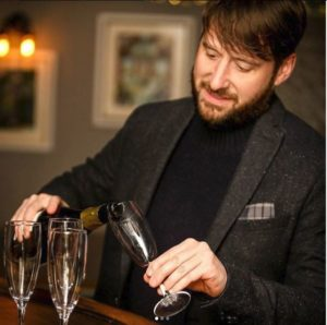 Doug bond, Morningside Wine School. Wine tasting classes Edinburgh.