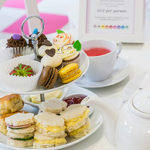 The delicious afternoon tea at Hey Little Cupcake, Manchester