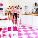 The bright and cheerful of afternoon tea in Manchester venue, Hey Little Cupcake