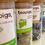 Tea Pigs served for afternoon tea at Hey Little Cupcake, Manchester