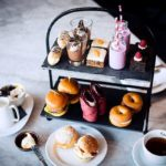 An eye catching and mouthwatering gin afternoon tea from Malmaison in Manchester, Oxford or Central London