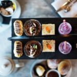 Sweet Afternoon Tea Treats from Malmaison Manchester, Oxford and Central london.