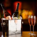 Enjoy a glass of prosecco with your Manchester themed afternoon tea at the Mercure Hotel Manchester Piccadilly