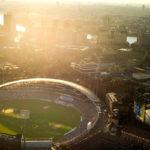 Enjoy a tour of the Kia Oval Cricket Ground, London.