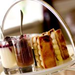 Afternoon tea from a range available at a Marriott Hotel across the UK