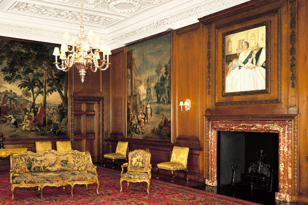 Drawing Room at the Palace of Holyrood House