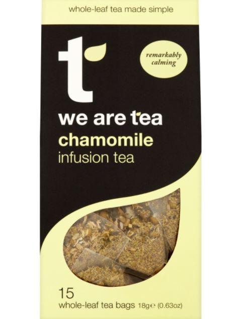 Chamomile Tea from We are Tea