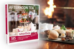 Afternoon Tea gift box with details of 250 venues across the UK