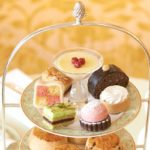 Sweet Treats for Afternoon Tea at the Grosvenor House Hotel, Park Lane, London.