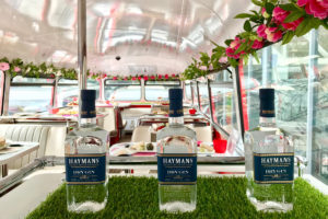 London gin bus tour with Hayman's gin. Operated by B Bakery. Special offer with 25% discount code.