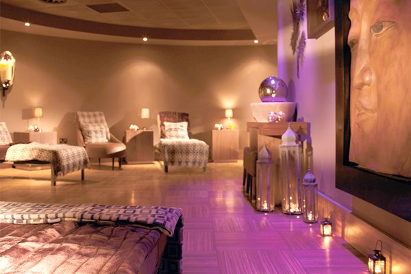 Macdonald Spa Hotel therapy and spa room