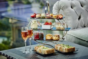 Special offer champagne afternoon tea at marco pierre white, Birmingham.