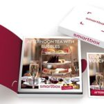 Afternoon tea with bubbles, smartbox from Buyagift