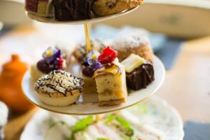 Mouthwatering cakes for afternoon tea in Cheshire at The Vicarage