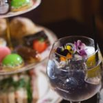 The delicious Vicarage Gin Afternoon Tea in Cheshire.