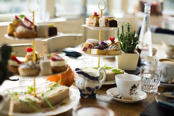 Vicarage gin afternoon tea Cheshire