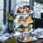 The very popular Gin Afternoon Tea from The Yacht London.
