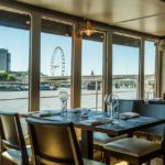 Spectacular views to be enjoyed with your afternoon tea on The Yacht, London.