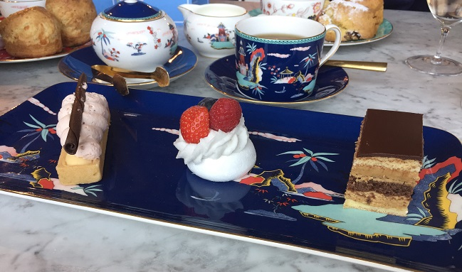 A trio of cakes from Wedgwood