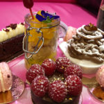 A delicious champagne, vegan afternoon tea in London from Cake Boy